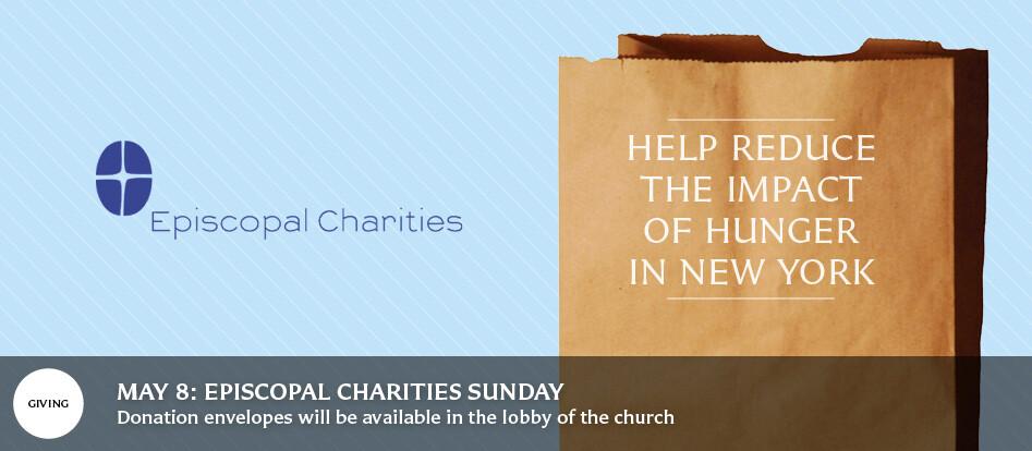 Episcopal Charities Sunday
