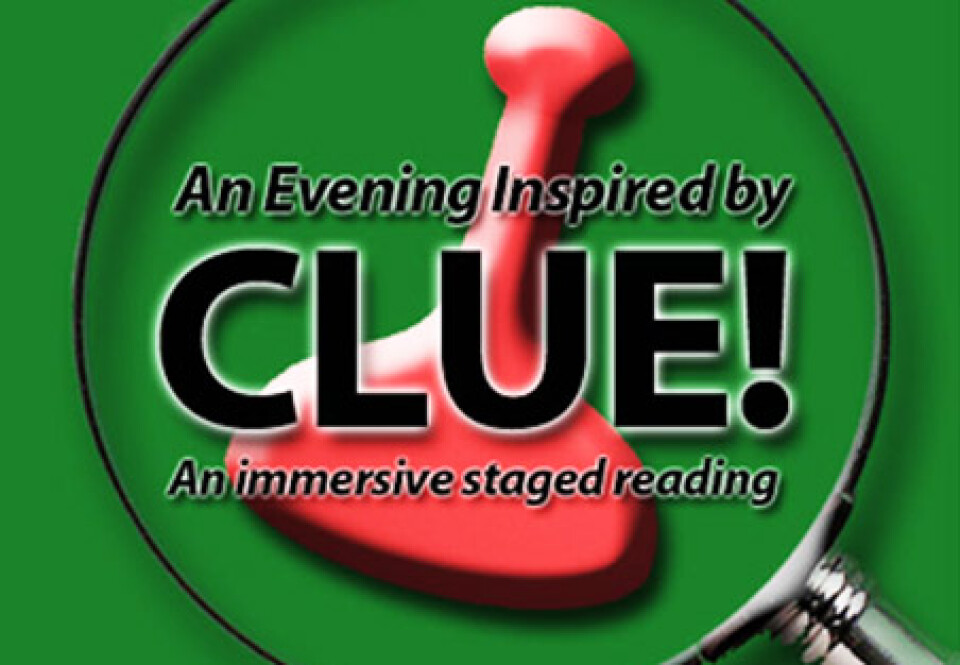CLUE! An Immersive Staged Reading
