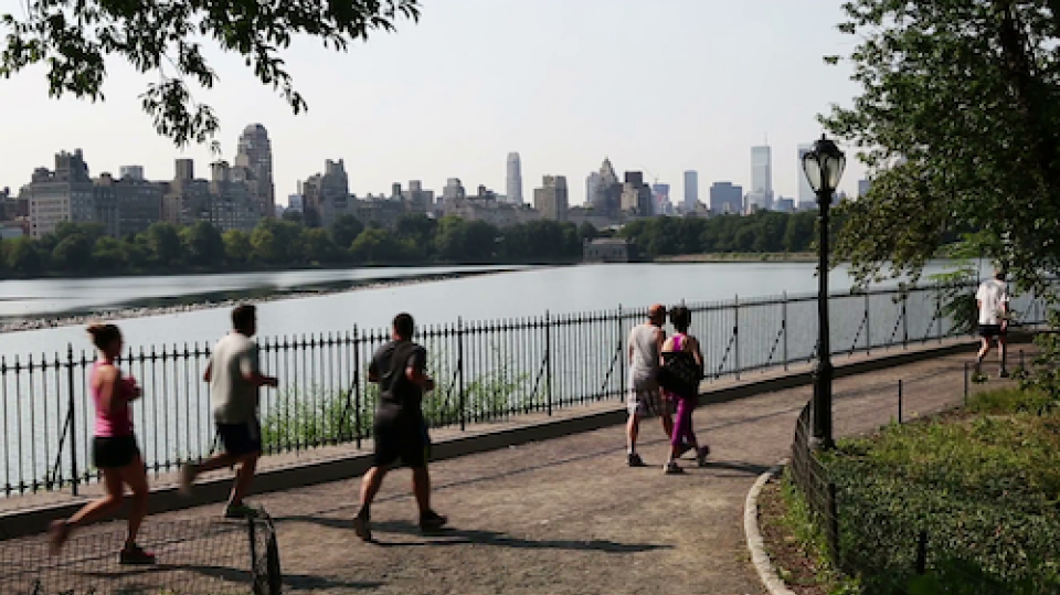 Family Friendly Run or Walk in Central Park