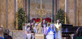 Christmas Eve, 2019 4 pm Family Service and Pageant